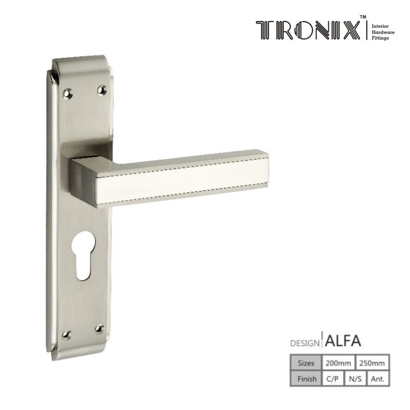Tronix Mortice Handles Alfa
