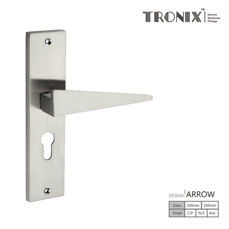 Tronix Mortice Handles Arrow