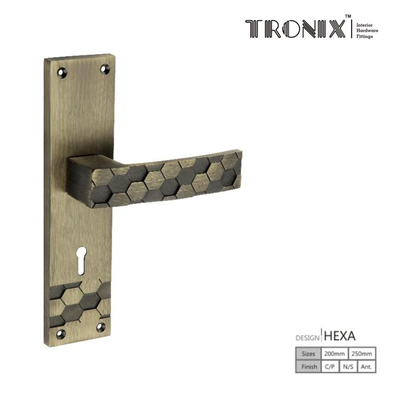 Tronix Mortice Handles Hexa