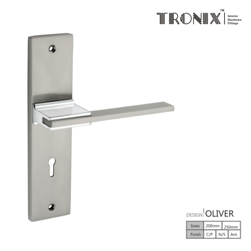 Tronix Mortice Handles Oliver